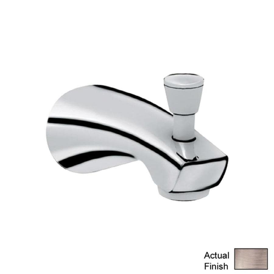 GROHE Nickel Tub Spout with Diverter