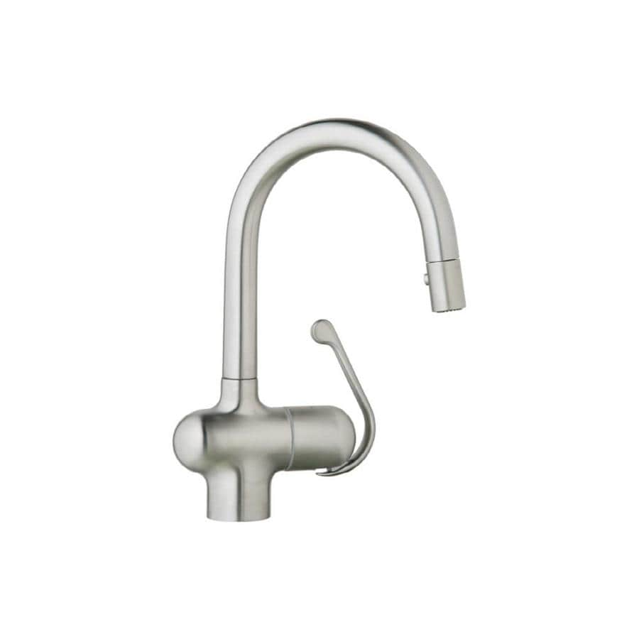 GROHE Ladylux Pro Stainless Steel 1-Handle Bar and Prep Faucet