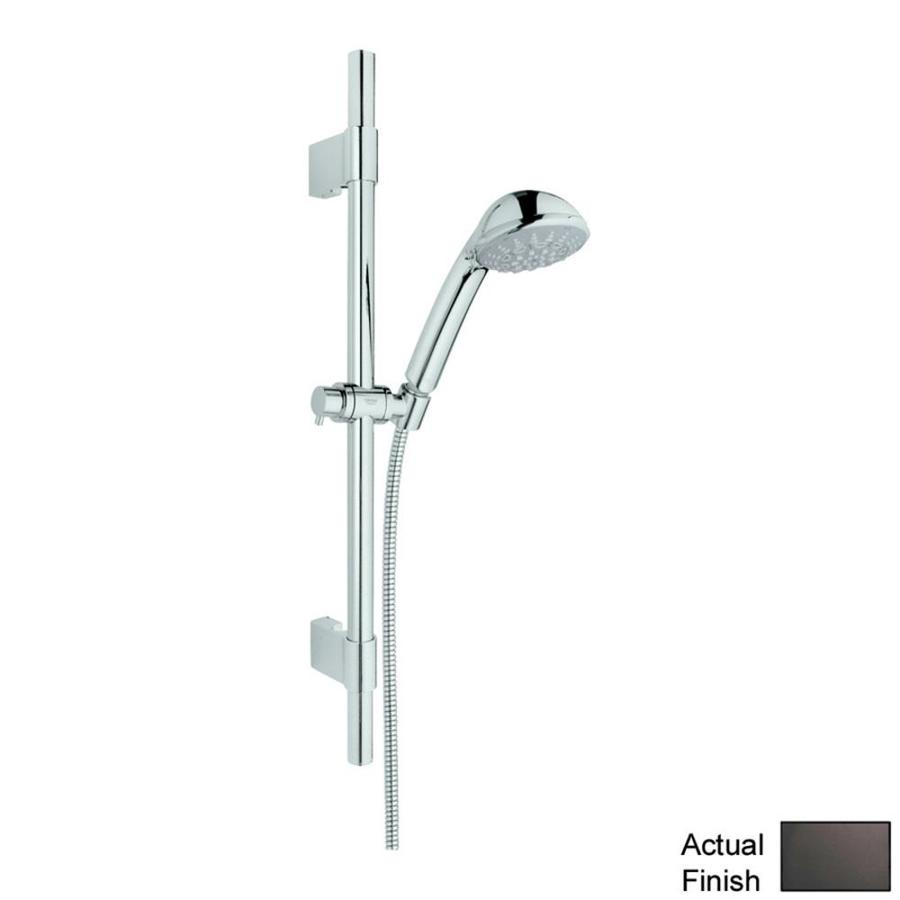 GROHE Relexa Ultra 3.75-in 2.5-GPM (9.5-LPM) Antique Bronze 5-Spray Hand Shower