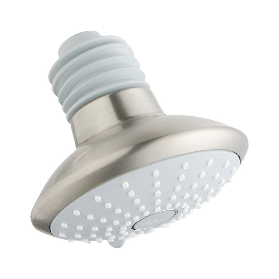 GROHE Euphoria 4.625-in 2.5-GPM (9.5-LPM) Brushed Nickel 2-Spray Showerhead