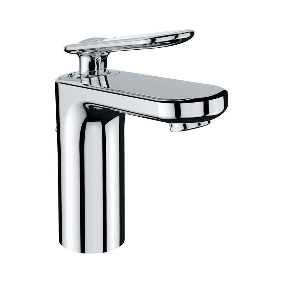 GROHE Ondus Veris Chrome 1-Handle 4-in Centerset WaterSense Bathroom Faucet (Drain Included)