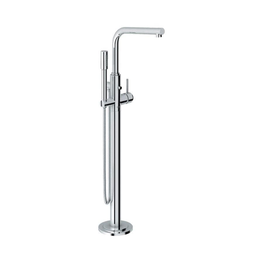 Shop Grohe Atrio Starlight Chrome 1 Handle Fixed Freestanding Bathtub Faucet At