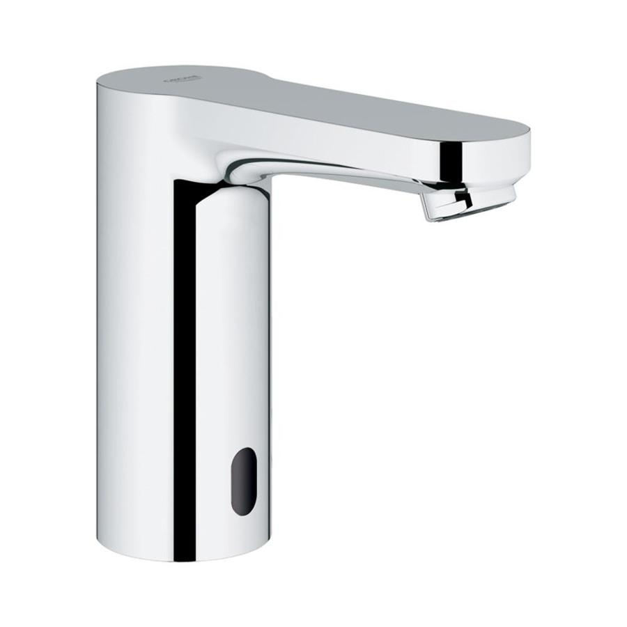 GROHE Eurosmart Starlight Chrome Touchless Single Hole Bathroom Faucet