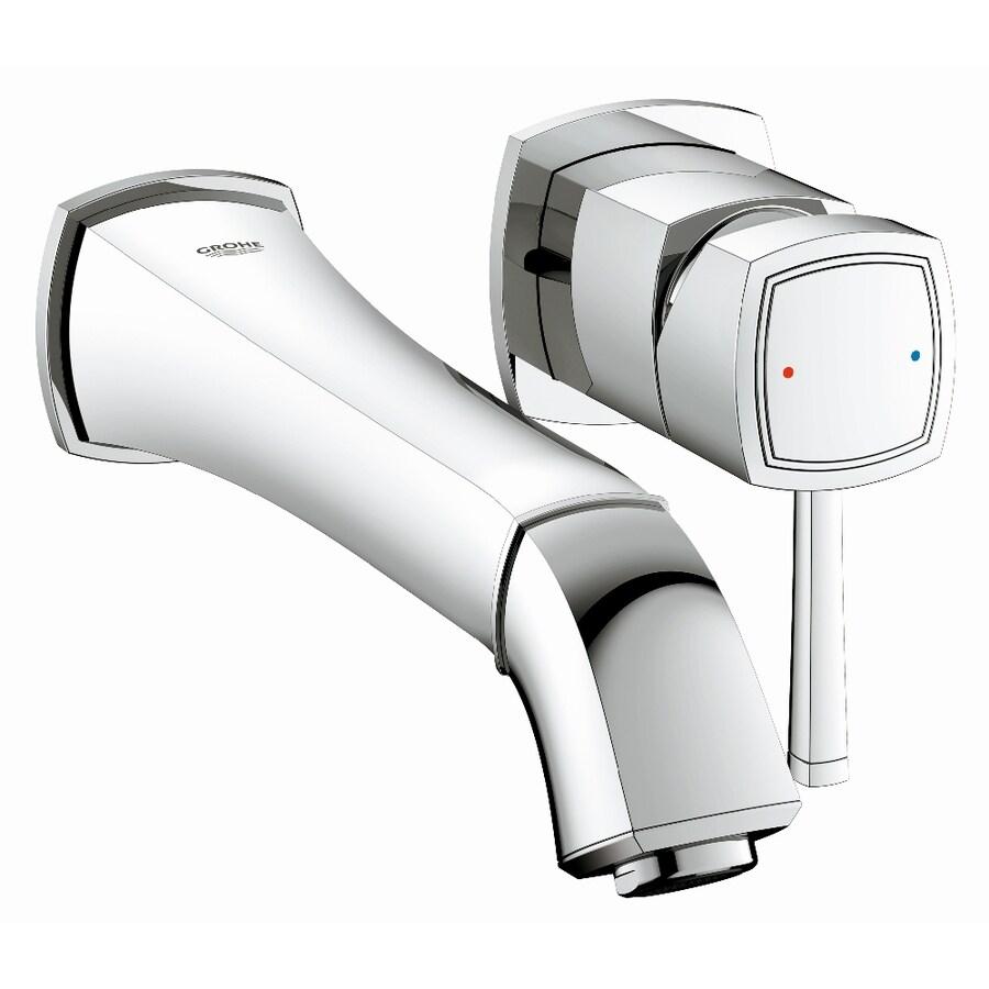 GROHE Grandera Starlight Chrome 1-Handle Vessel WaterSense Bathroom Faucet