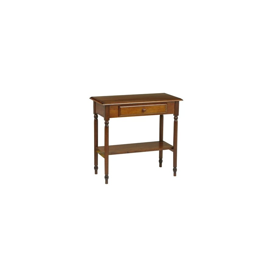 Office Star OSP Designs Antique Cherry Rectangular Console and Sofa Table