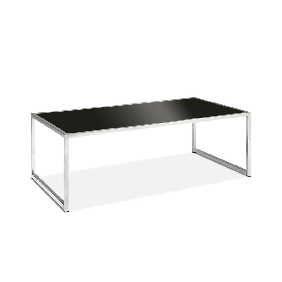 Office Star Avenue Six Chrome (Metal) Rectangular Coffee Table