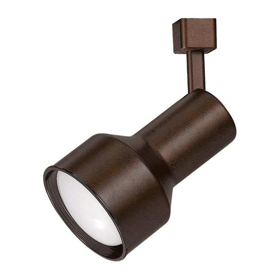 Cal Lighting 1-Light Rust Step Linear Track Lighting Head