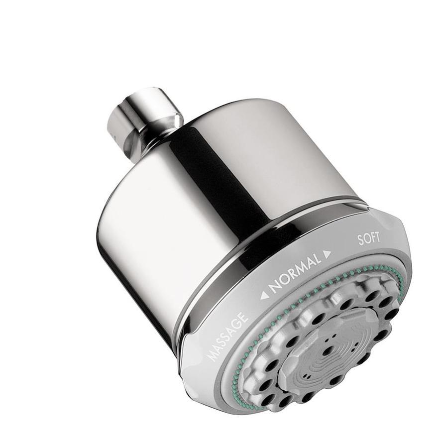 Hansgrohe HG 3.75-in 2.5-GPM (9.5-LPM) Chrome 3-Spray Showerhead