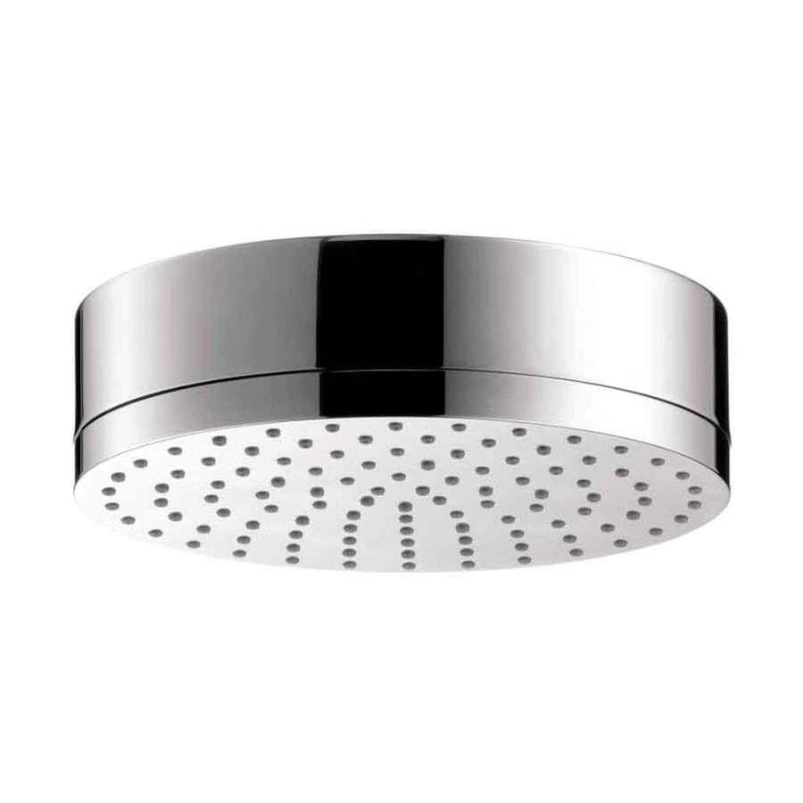 Hansgrohe Axor Citterio 7.125-in 2.5-GPM (9.5-LPM) Chrome 1-Spray Showerhead