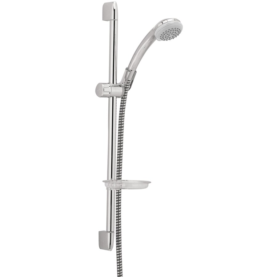 Hansgrohe Commercial 3-in 2.5-GPM (9.5-LPM) Chrome 1-Spray Hand Shower