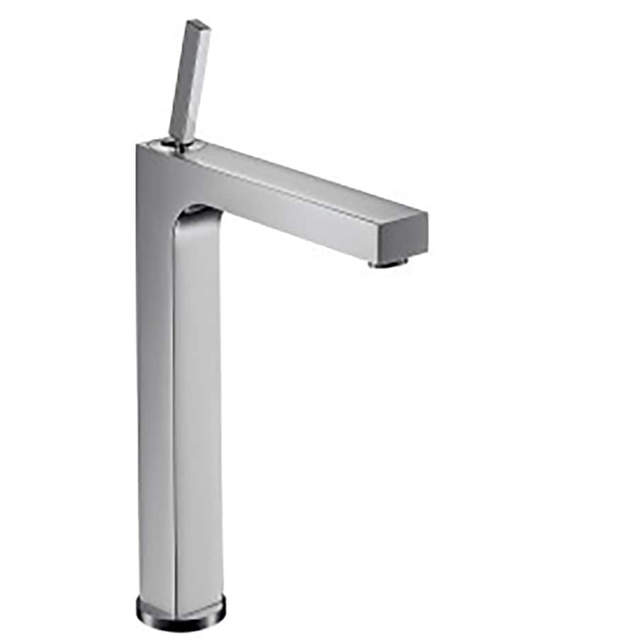 Hansgrohe Axor Citterio Chrome 1-Handle Single Hole WaterSense Bathroom Faucet (Drain Included)