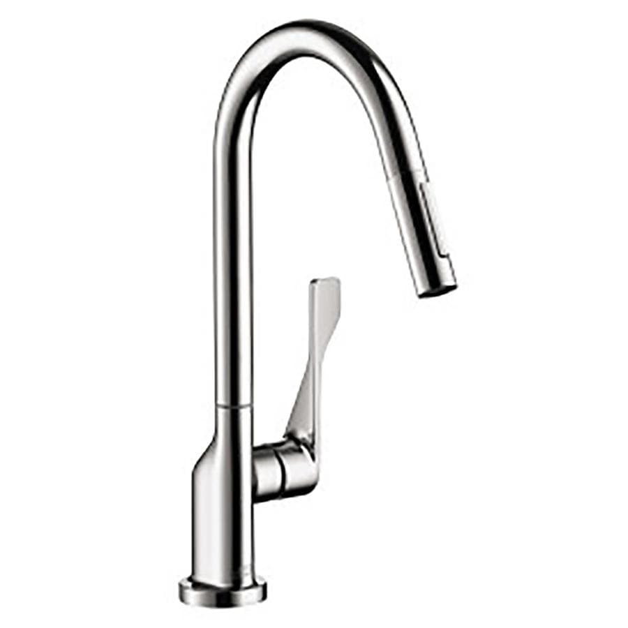 Hansgrohe Axor Kitchen Chrome 1-Handle Pull-Out Kitchen Faucet