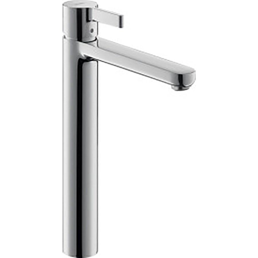 Hansgrohe Metris S Chrome 1-Handle Single Hole WaterSense Bathroom Faucet (Drain Included)