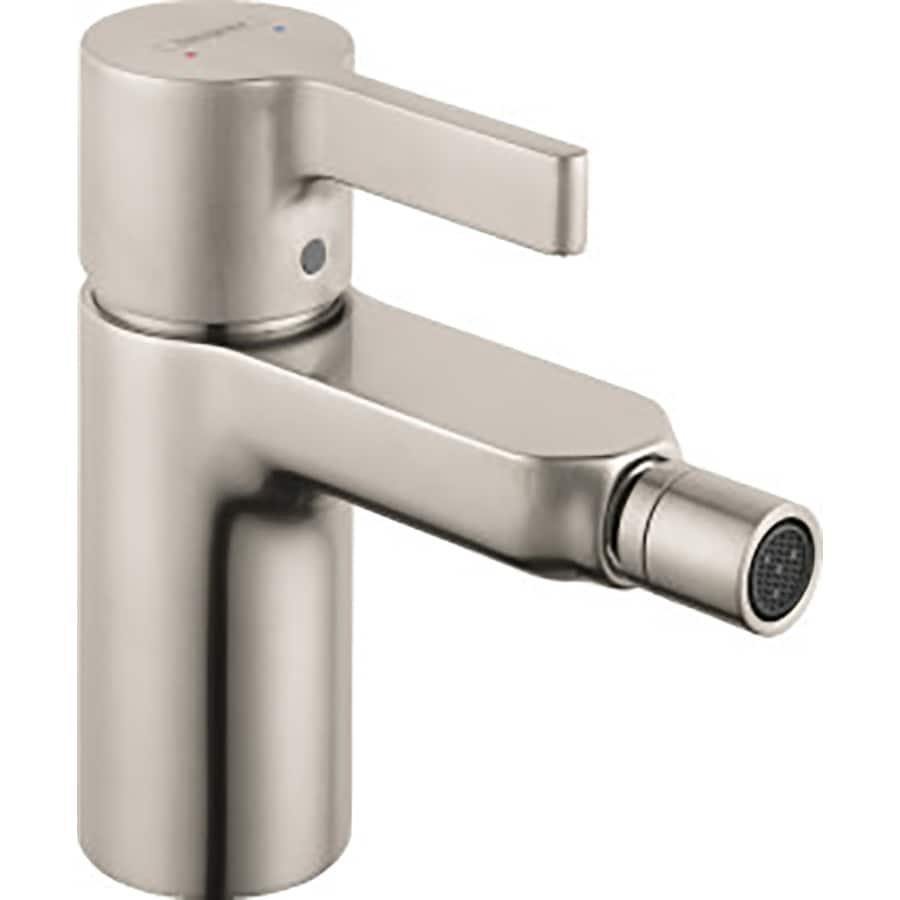 Hansgrohe Metris S Brushed Nickel Horizontal Spray Bidet Faucet