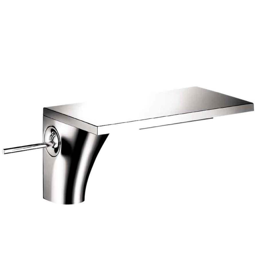Hansgrohe Axor Massaud Chrome 1-Handle Single Hole Bathroom Faucet (Drain Included)