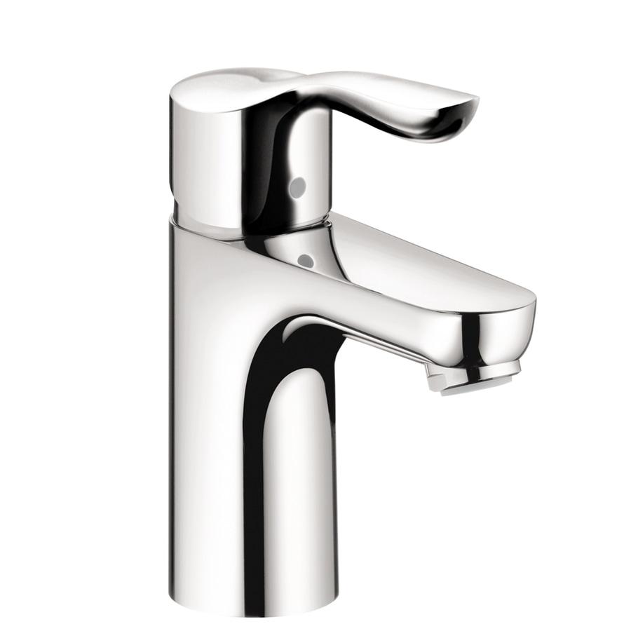 Hansgrohe Solaris E Chrome 1-Handle Single Hole WaterSense Bathroom Faucet (Drain Included)