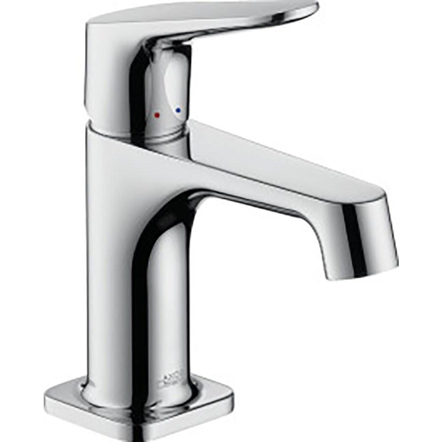 Hansgrohe Axor Citterio M Chrome 1-Handle Single Hole Bathroom Faucet (Drain Included)