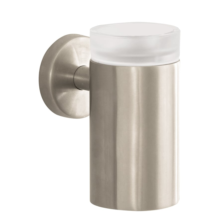 Hansgrohe Accessories Brushed Nickel Brass Toothbrush Holder