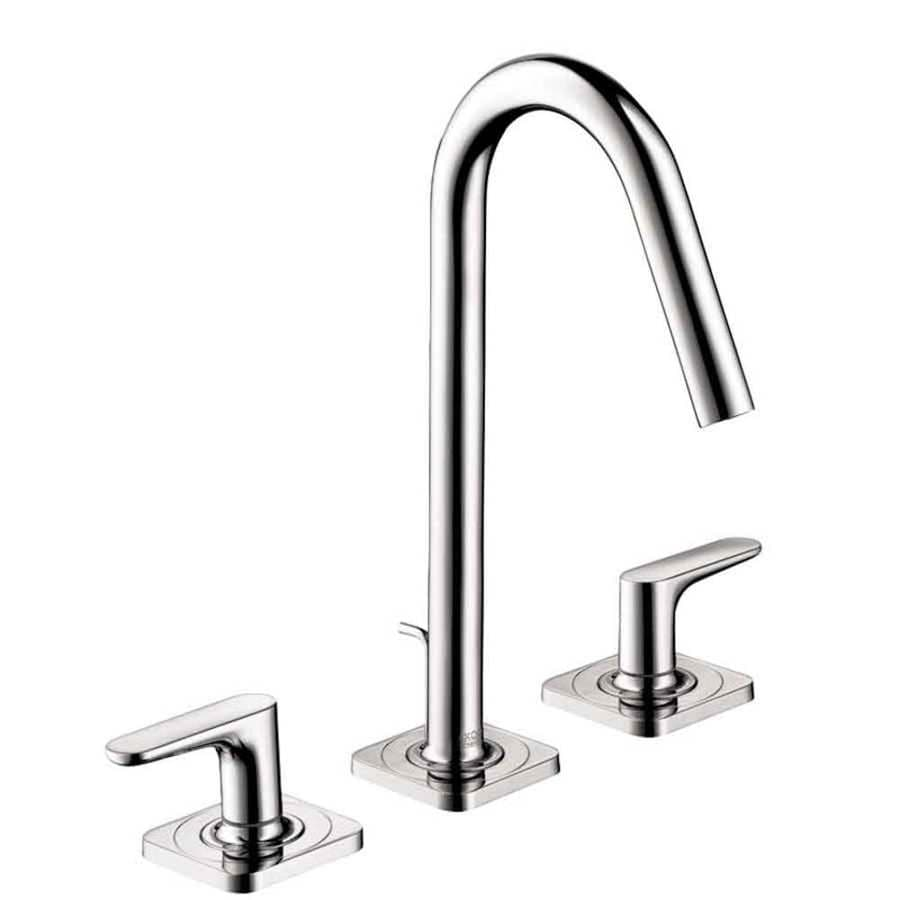Hansgrohe Axor Citterio M Chrome 2-Handle Widespread Bathroom Faucet (Drain Included)