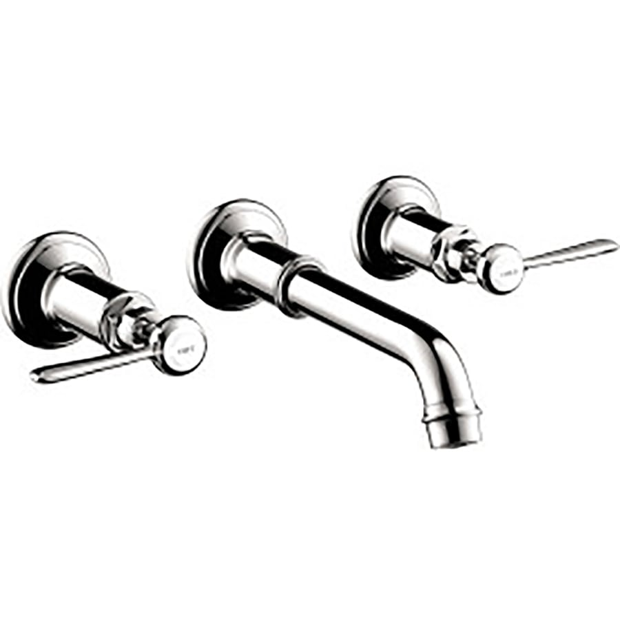 Hansgrohe Axor Montreux Chrome 2-Handle Widespread Bathroom Faucet (Drain Included)
