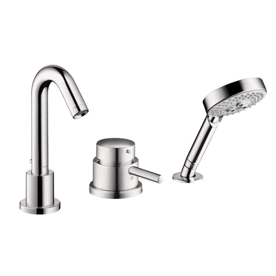 Shop hansgrohe talis s chrome 1 handle fixed deck mount - Hansgrohe shower handle ...