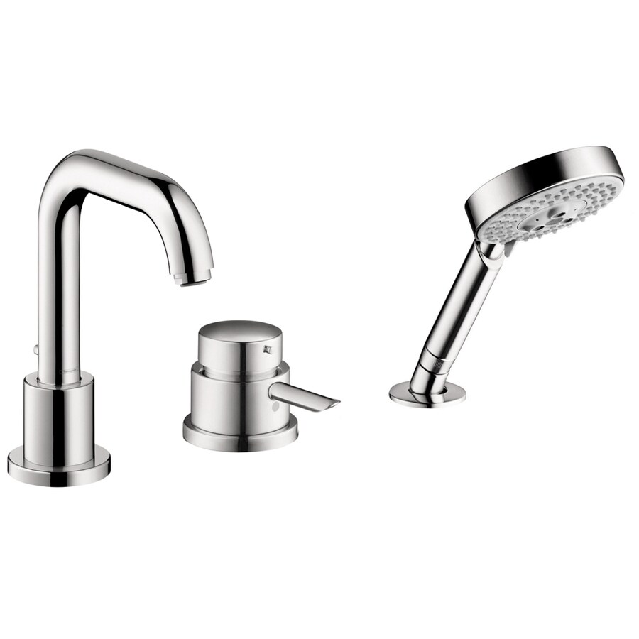 shop hansgrohe focus s chrome 1 handle fixed deck mount tub faucet at. Black Bedroom Furniture Sets. Home Design Ideas
