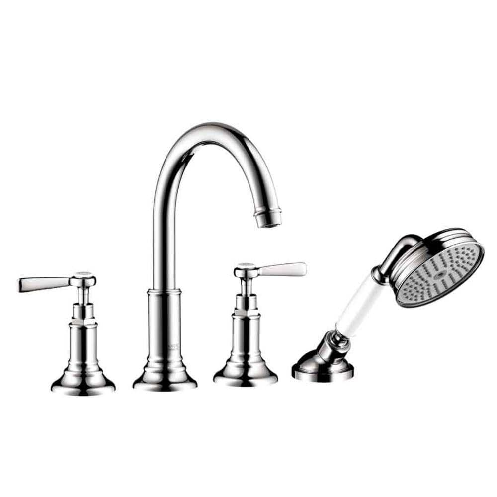 Hansgrohe Axor Montreux Chrome 2-Handle Fixed Deck Mount Tub Faucet