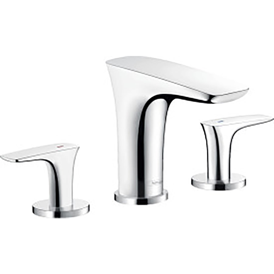 Shop Hansgrohe Puravida Chrome 1 Handle Widespread Bathroom Faucet At