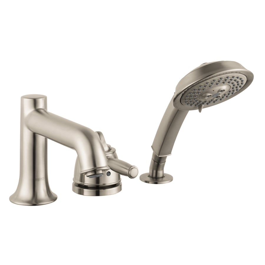 Shop Hansgrohe Talis C Brushed Nickel 1 Handle Fixed Deck