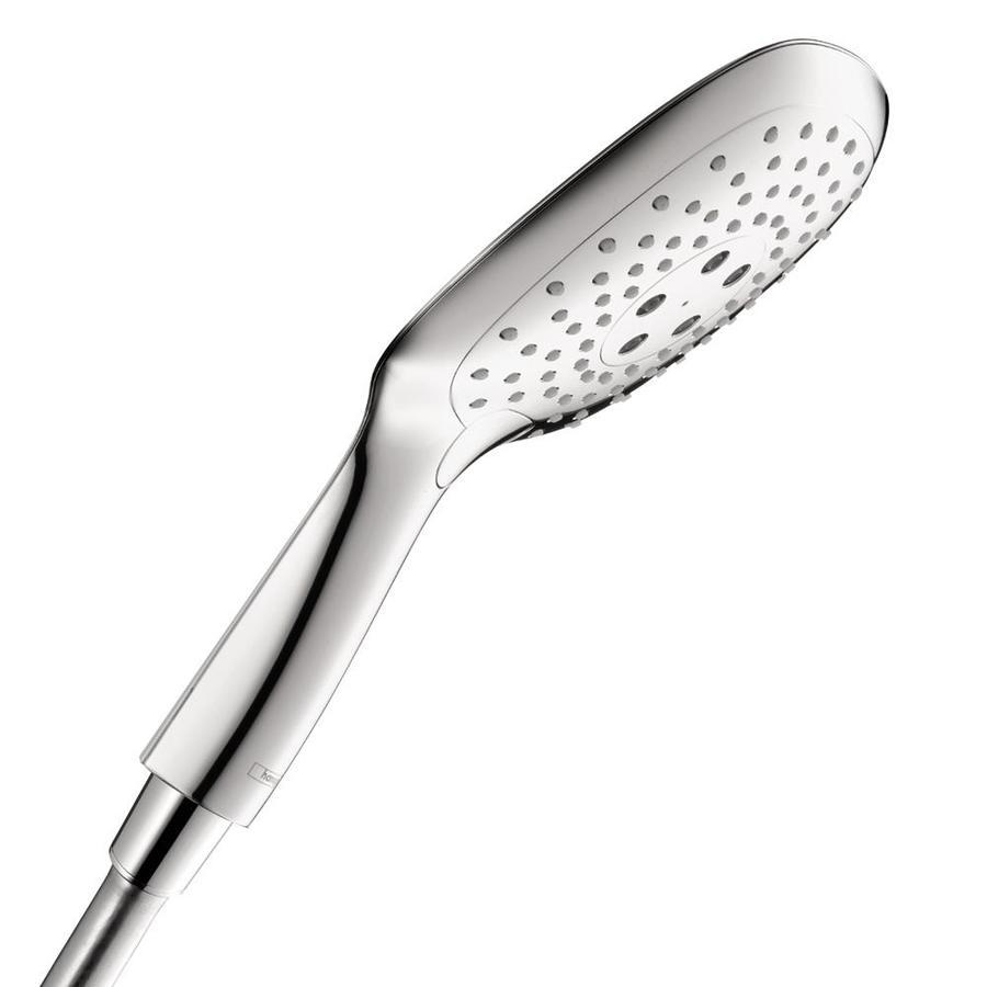 Hansgrohe Puravida 5.25-in 2.5-GPM (9.5-LPM) Chrome 3-Spray Hand Shower