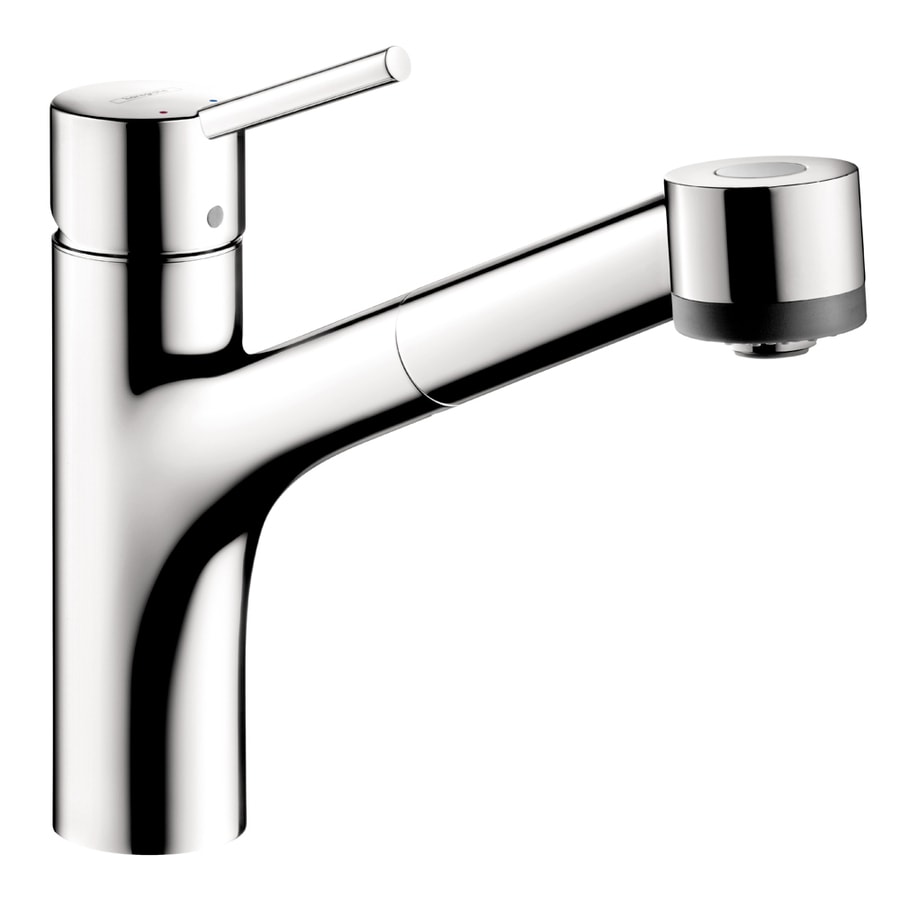 Hansgrohe Hg Kitchen Chrome 1-Handle Pull-Out Kitchen Faucet