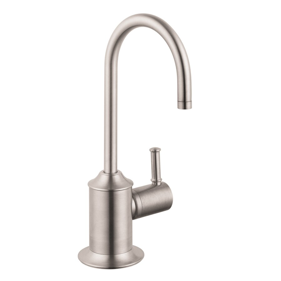 shop hansgrohe hg kitchen steel optik 1 handle bar and