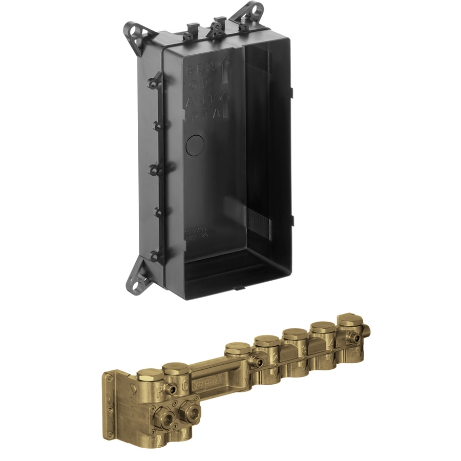 Hansgrohe 3/4-in Brass Female In-Line Shower Valve