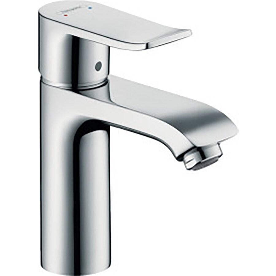 Hansgrohe Metris Chrome 1-Handle Single Hole Bathroom Faucet (Drain Included)