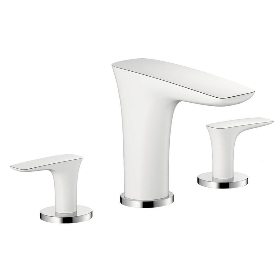 Hansgrohe Puravida White 2-Handle Fixed Deck Mount Tub Faucet