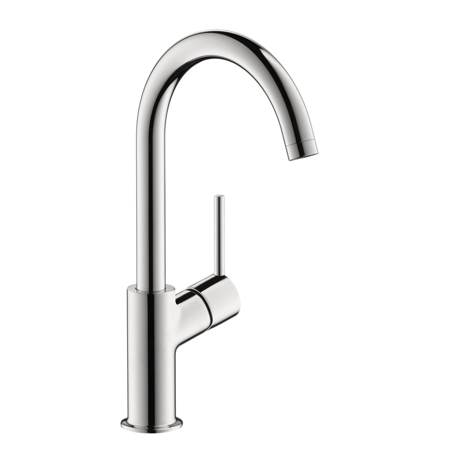 Hansgrohe Talis S Chrome 1-Handle Single Hole Bathroom Faucet (Drain Included)