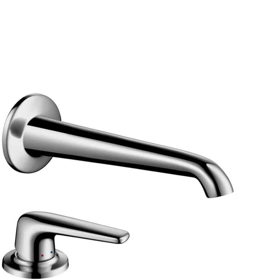 Hansgrohe Axor Bouroullec Chrome 1-Handle Widespread Bathroom Faucet (Drain Included)
