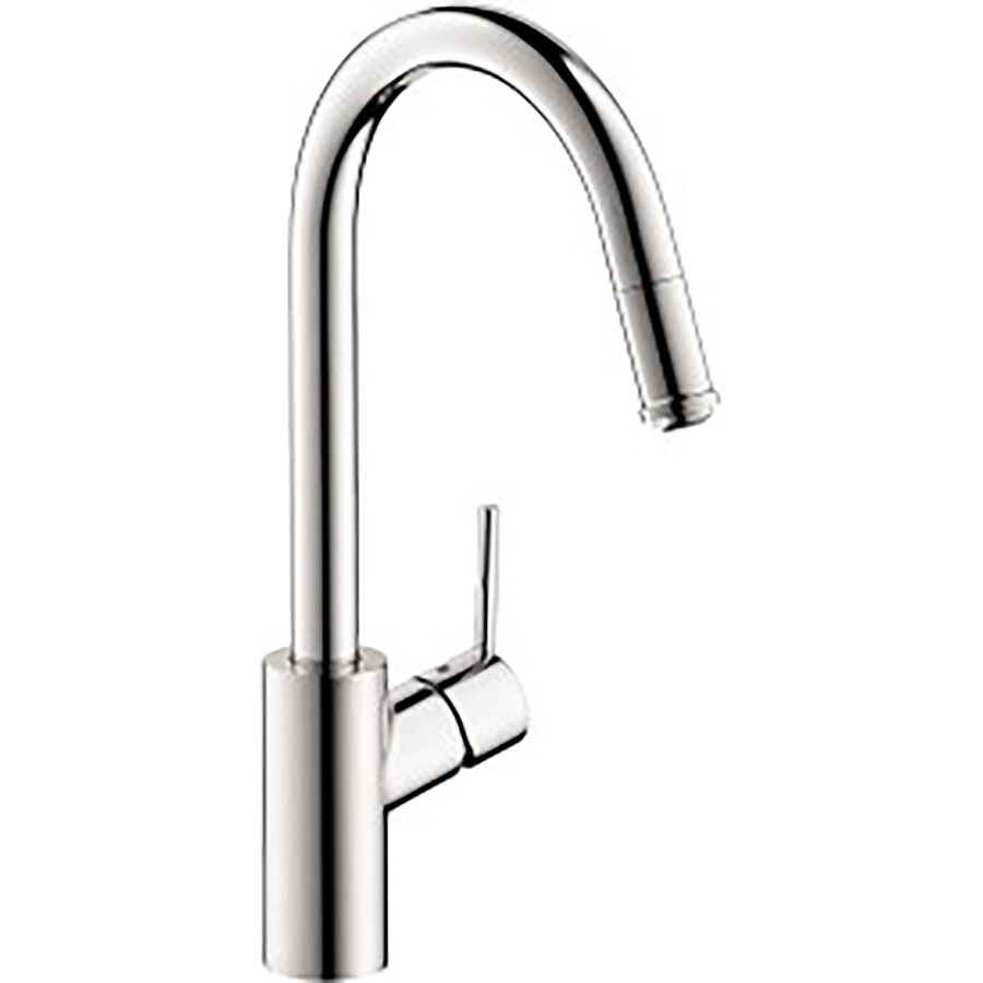 Hansgrohe Talis S Chrome 1-Handle Pull-Down Kitchen Faucet