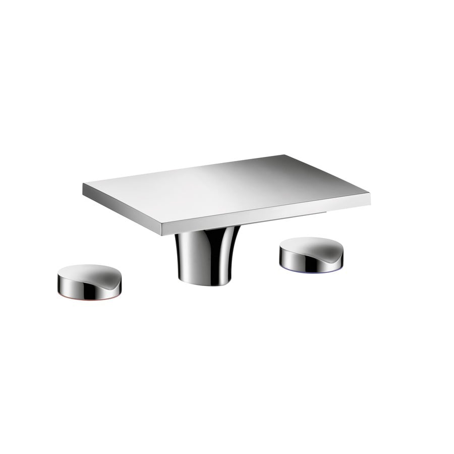 Hansgrohe Massaud Chrome 2-Handle Widespread WaterSense Bathroom Faucet (Drain Included)