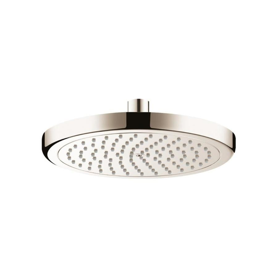 Hansgrohe Croma 8.625-in 2.5-GPM (9.5-LPM) Brushed Nickel Rain Showerhead