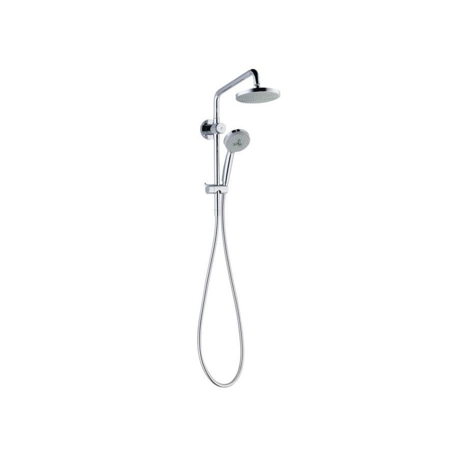 Hansgrohe Croma E 6.25-in Chrome Showerhead with Hand Shower