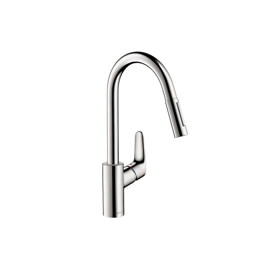 Hansgrohe Focus Chrome 1-Handle Pull-Down Kitchen Faucet