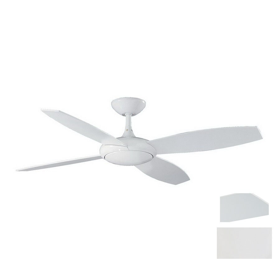 Kendal Lighting 52-in Orbit White Ceiling Fan with Remote