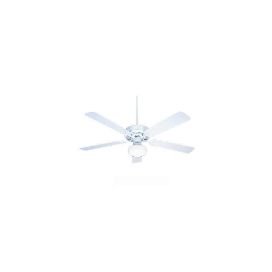 Nicor Lighting 52-in Contractor Pewter Ceiling Fan