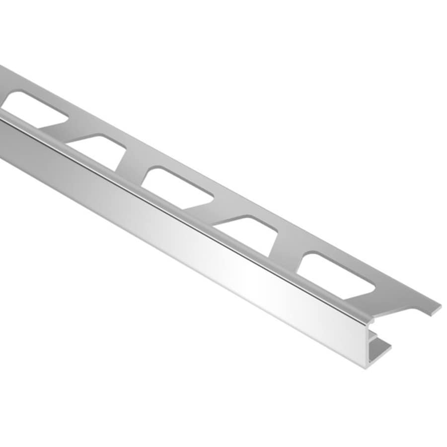 Schluter Systems 0.25-in W x 98.5-in L Aluminum Commercial/Residential Tile Edge Trim