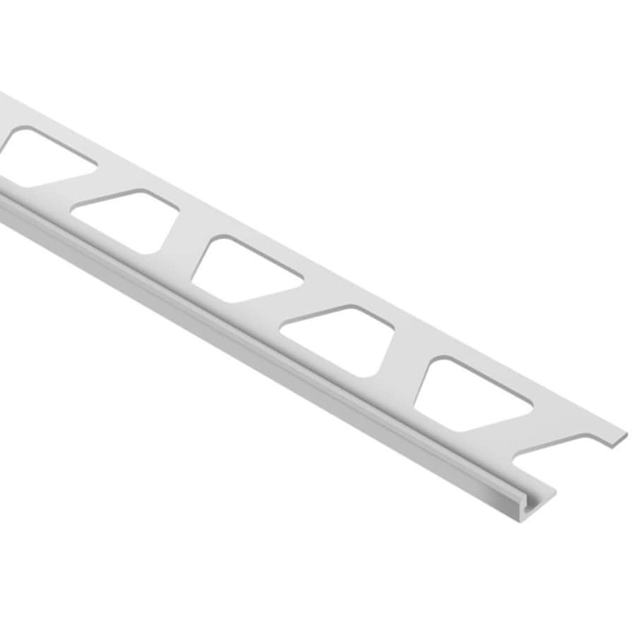 Schluter Systems 0.188-in W x 98.5-in L Pvc Commercial/Residential Tile Edge Trim
