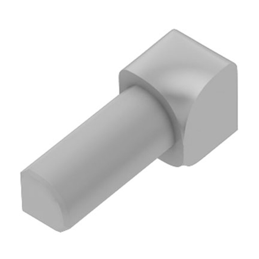 Schluter Systems 0.375-in W x 1-in L Pvc Commercial/Residential Tile Edge Trim