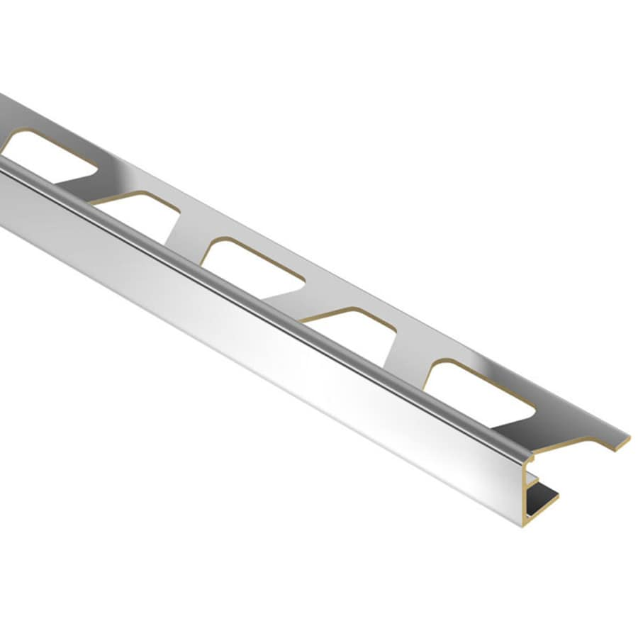 Schluter Systems 0.375-in W x 98.5-in L Brass Commercial/Residential Tile Edge Trim