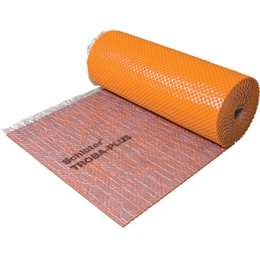 Schluter Systems 135-sq ft 0.3125-in Orange Plastic Commercial/Residential Tile Membrane