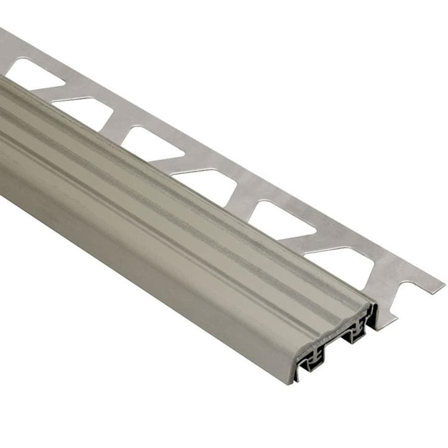 Schluter Systems 0.5-in W x 98.5-in L Steel Commercial/Residential Tile Edge Trim